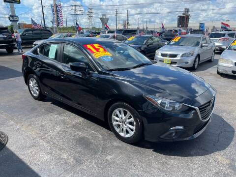 2015 Mazda MAZDA3 for sale at Texas 1 Auto Finance in Kemah TX