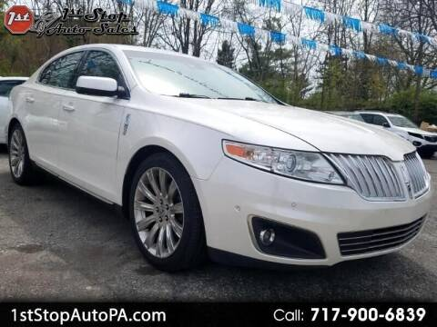 2010 Lincoln MKS for sale at 1st Stop Auto Sales in York PA
