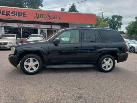 2007 Chevrolet TrailBlazer for sale at RIVERSIDE AUTO SALES in Sioux City IA