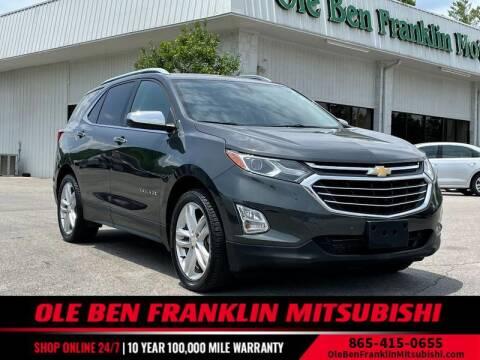 2018 Chevrolet Equinox for sale at Ole Ben Franklin Mitsbishi in Oak Ridge TN