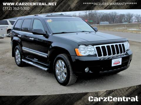 2010 Jeep Grand Cherokee for sale at CarzCentral in Estherville IA