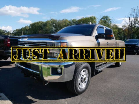 2015 Chevrolet Silverado 2500HD for sale at BRYNER CHEVROLET in Jenkintown PA