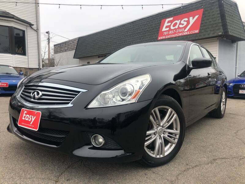 2011 Infiniti G37 Sedan for sale at Easy Autoworks & Sales in Whitman MA