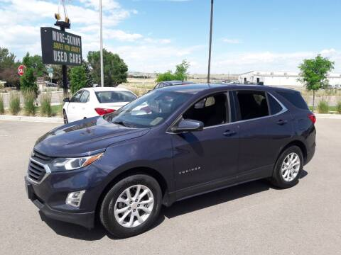 2018 Chevrolet Equinox for sale at More-Skinny Used Cars in Pueblo CO
