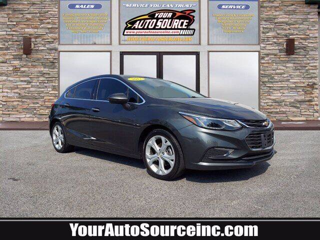 2017 Chevrolet Cruze for sale at Your Auto Source in York PA