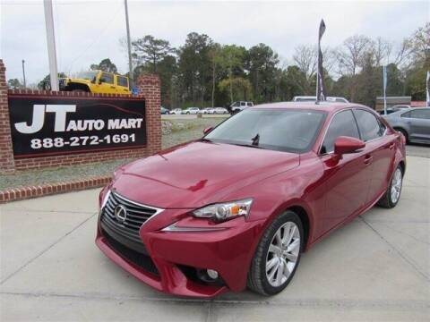 2014 Lexus IS 250 for sale at J T Auto Group in Sanford NC