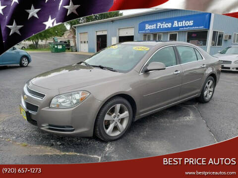 2012 Chevrolet Malibu for sale at Best Price Autos in Two Rivers WI