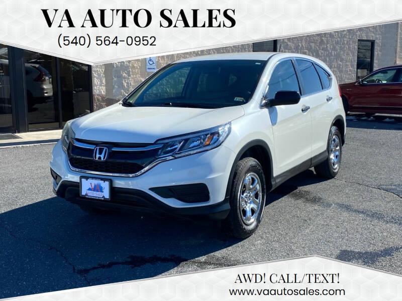 2015 Honda CR-V for sale at Va Auto Sales in Harrisonburg VA