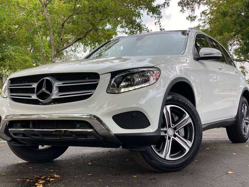 2017 Mercedes-Benz GLC for sale at HIGH PERFORMANCE MOTORS in Hollywood FL