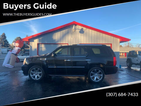 2008 Cadillac Escalade for sale at Buyers Guide in Buffalo WY