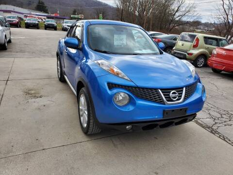 2012 Nissan JUKE for sale at A - K Motors Inc. in Vandergrift PA