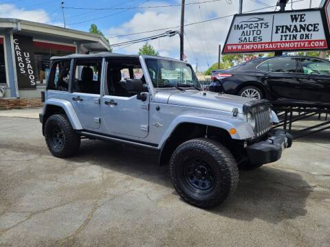 2013 Jeep Wrangler Unlimited for sale at Imports Auto Sales & Service in San Leandro CA