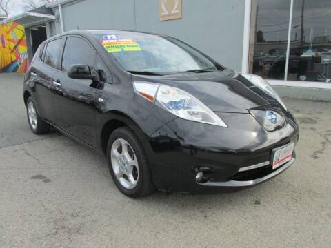 2012 Nissan LEAF for sale at Omega Auto & Truck Center, Inc. in Salem MA