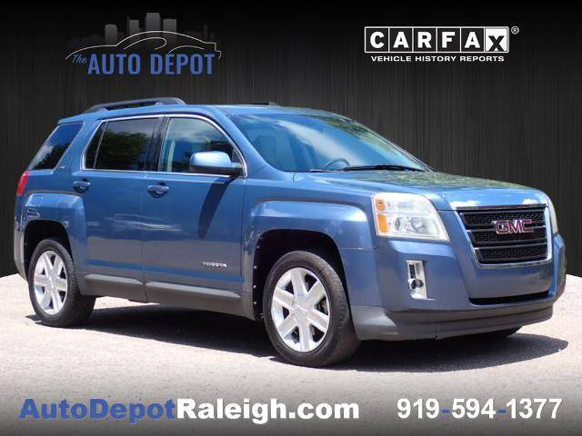 2011 GMC Terrain for sale at The Auto Depot in Raleigh NC