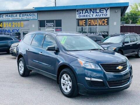 2013 Chevrolet Traverse for sale at Stanley Automotive Finance Enterprise - STANLEY DIRECT AUTO in Mesquite TX