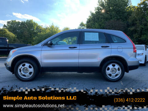 2007 Honda CR-V for sale at Simple Auto Solutions LLC in Greensboro NC