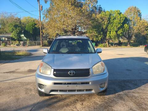2004 Toyota RAV4 for sale at G&J Car Sales in Houston TX