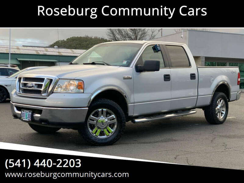 2008 Ford F-150 for sale at Roseburg Community Cars in Roseburg OR