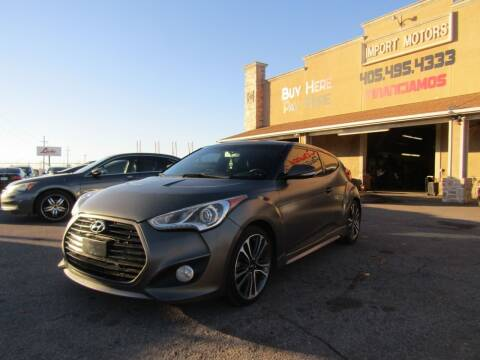 2013 Hyundai Veloster for sale at Import Motors in Bethany OK