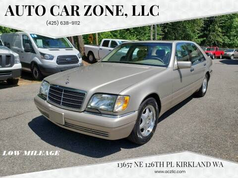 1999 Mercedes-Benz S-Class for sale at Auto Car Zone, LLC in Kirkland WA