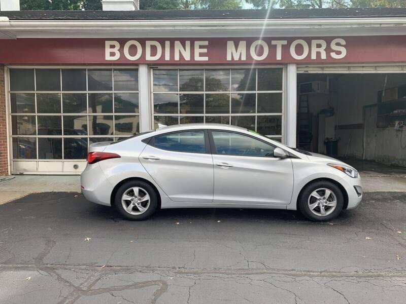 2014 Hyundai Elantra for sale at BODINE MOTORS in Waverly NY