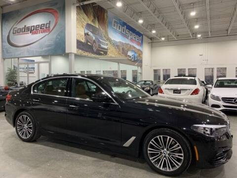 2017 BMW 5 Series for sale at Godspeed Motors in Charlotte NC