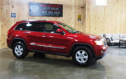 2011 Jeep Grand Cherokee for sale at Boone NC Jeeps-High Country Auto Sales in Boone NC
