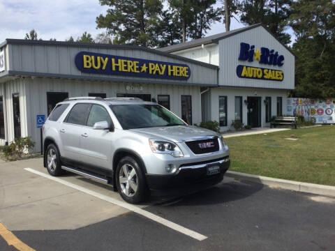 2012 GMC Acadia for sale at Bi Rite Auto Sales in Seaford DE