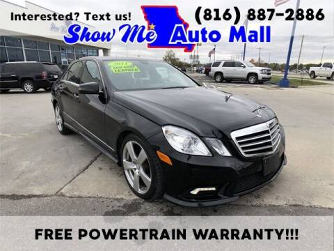 2011 Mercedes-Benz E-Class for sale at Show Me Auto Mall in Harrisonville MO