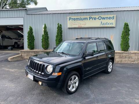 2014 Jeep Patriot for sale at PREMIUM PRE-OWNED AUTOS in East Peoria IL