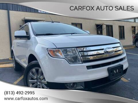 2010 Ford Edge for sale at Carfox Auto Sales in Tampa FL