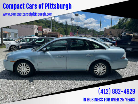 2008 Mercury Sable for sale at Compact Cars of Pittsburgh in Pittsburgh PA