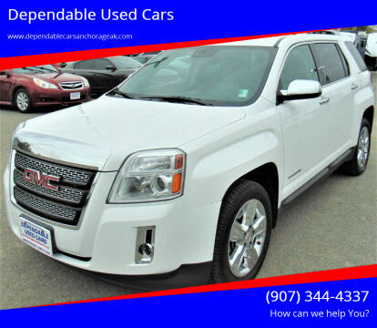 2015 GMC Terrain for sale at Dependable Used Cars in Anchorage AK