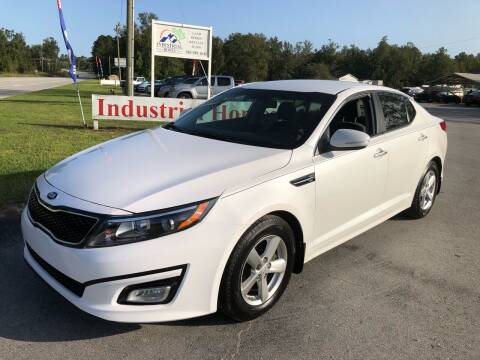 2015 Kia Optima for sale at IH Auto Sales in Jacksonville NC