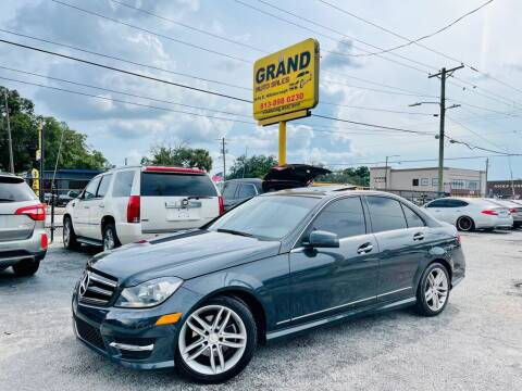 2014 Mercedes-Benz C-Class for sale at Grand Auto Sales in Tampa FL