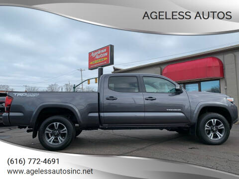 2018 Toyota Tacoma for sale at Ageless Autos in Zeeland MI