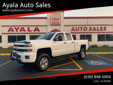 2015 Chevrolet Silverado 2500HD for sale at Ayala Auto Sales in Aurora IL