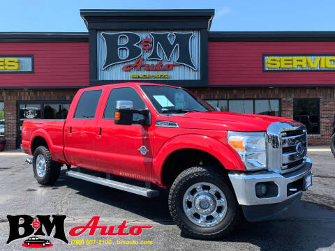 2012 Ford F-250 Super Duty for sale at B & M Auto Sales Inc. in Oak Forest IL