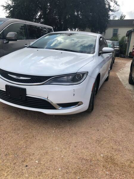 2015 Chrysler 200 for sale at S & J Auto Group in San Antonio TX