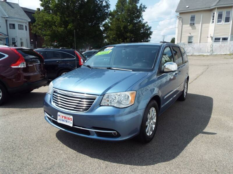 2011 Chrysler Town and Country for sale at FRIAS AUTO SALES LLC in Lawrence MA