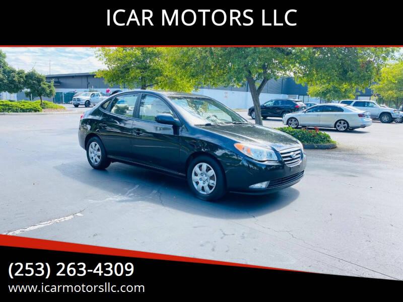 2008 Hyundai Elantra for sale at ICAR MOTORS LLC in Federal Way WA