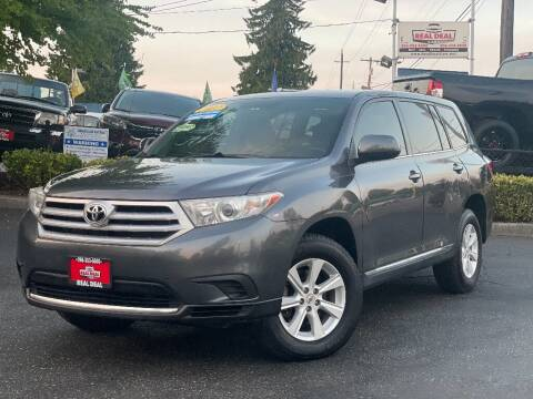 2012 Toyota Highlander for sale at Real Deal Cars in Everett WA