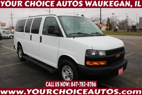 2018 Chevrolet Express Passenger for sale at Your Choice Autos - Waukegan in Waukegan IL