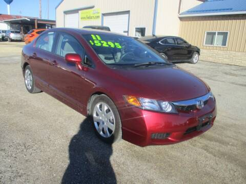 2011 Honda Civic for sale at Northeast Iowa Auto Sales in Hazleton IA