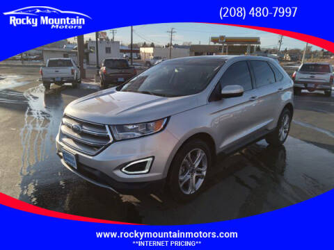 2018 Ford Edge for sale at Rocky Mountain Motors in Idaho Falls ID