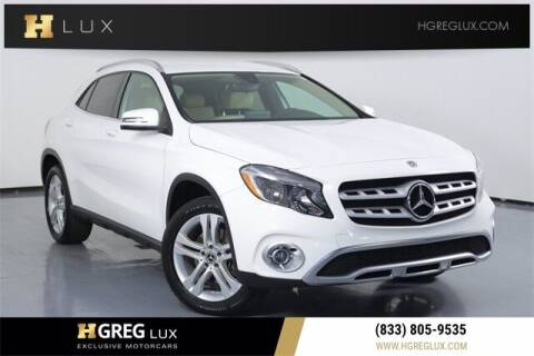 2018 Mercedes-Benz GLA for sale at HGREG LUX EXCLUSIVE MOTORCARS in Pompano Beach FL