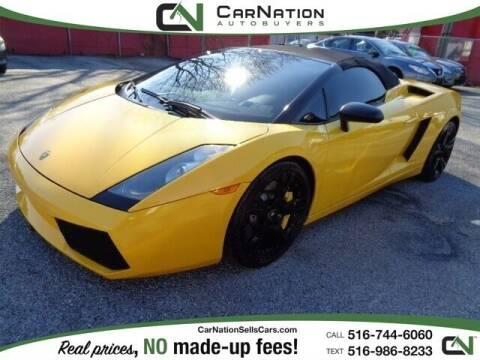 2008 Lamborghini Gallardo for sale at CarNation AUTOBUYERS, Inc. in Rockville Centre NY