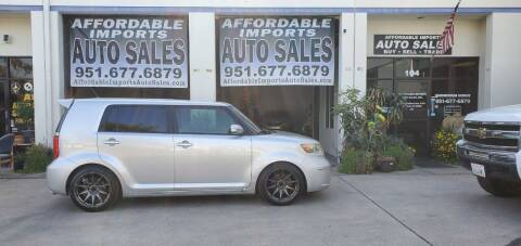 2008 Scion xB for sale at Affordable Imports Auto Sales in Murrieta CA