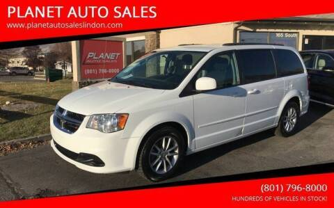 2016 Dodge Grand Caravan for sale at PLANET AUTO SALES in Lindon UT