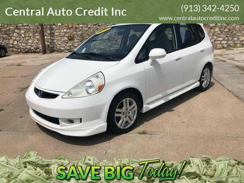2007 Honda Fit for sale at Central Auto Credit Inc in Kansas City KS